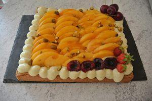 SABLE AUX PECHES - La cuisine de blanche.over-blog.com