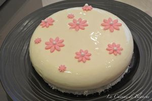 Entremets Cassis Coco
