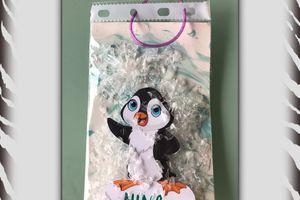 Carte pingouin : effet boule de neige