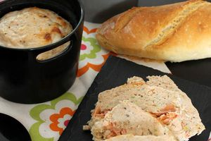 Terrine de saumon en mini cocotte Cookut