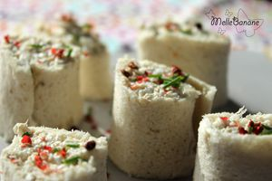 Wrap de maquereaux au cottage cheese
