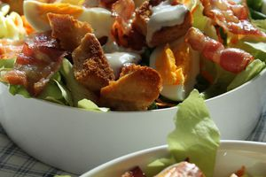 Salade au bacon