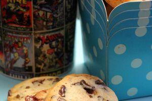 Cookies chocolat carambar pour Mr Grognon