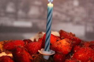Flossycake #4 - Pavlova figues et fraises