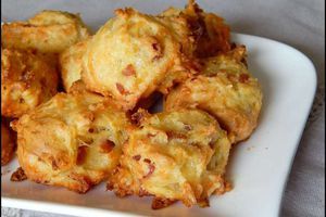 Minis choux Jambon - Gruyère  (recette Tupperware)