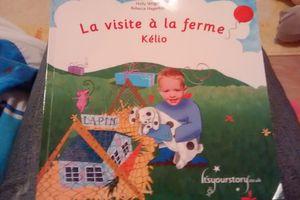 Chut les enfants lisent! La visite à la ferme - livre personnalisé