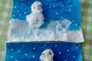 L'art est un jeu d'enfants - Blanc comme neige