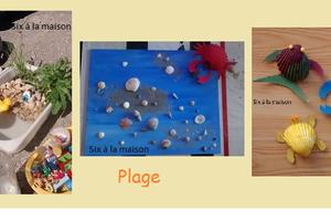 Projet enfant : La plage - DIY