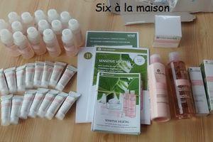 J'ai testé la gamme Sensitive Végétal de chez Yves Rocher (+ concours)
