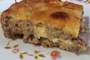 Tadjine el Djben à la viande hachée (tajine de fromage)