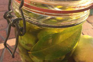 Olives vertes à la sicilienne