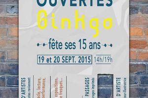 Ginkgo à Troyes les 19 et 20 septembre 2015