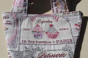 Tote Bag gourmand-Atelier Hermione