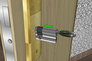 Comment changer un cylindre de serrure de porte ?