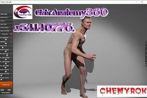 Anatomy360 v5.4.1.40776 - Paquete masculino y femenino
