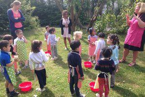Sortie des élèves de Mme Mélanie (PS)