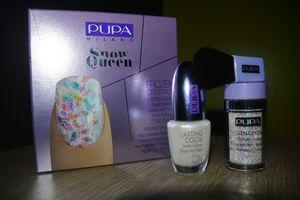 Snow Queen Frozen Crystals...Pour un look givré tridimentionnel!