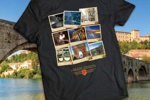 "Collection de t-shirts ""Le Languedoc-Roussillon sur ta peau"""