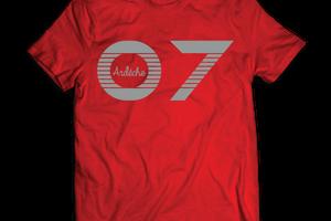 T-shirt France - Rhône-Alpes - Ardèche 07.