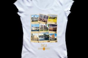 T-shirt: France - Provence-Alpes-Côte d'Azur - PACA - Polaroïds