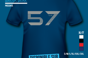 T-shirt France: Lorraine - Moselle 57.