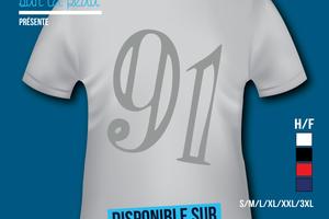 T-shirt - France - île de France - Essonne 91.