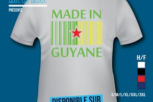 T-shirt France: Guyane 973 - Made in Guyane