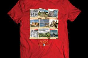 T-shirt: France - Picardie - Polaroïds