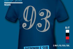 T-shirt - France - île de France - Seine-Saint-Denis 93.