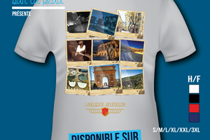 T-shirt: France - Languedoc-Roussillon - Photos - Polaroïds.