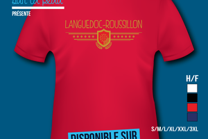 T-shirt: France - Languedoc-Roussillon.