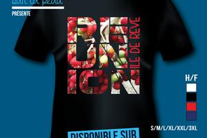 T-shirt: France - L'île de la Réunion 974 - Île de rêve 2.