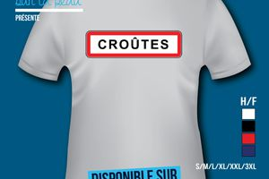 T-shirt: France - Champagne-Ardenne - Croûte.