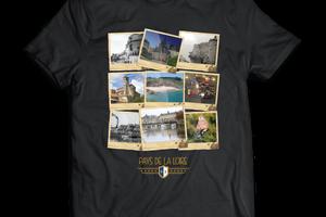 T-shirt: France - Pays de la Loire - Polaroïds.