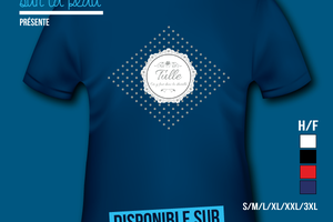 T-shirt France - Limousin - Dentelle de Tulle