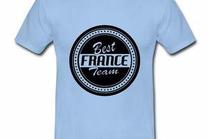 T shirt France Best France Team HBC