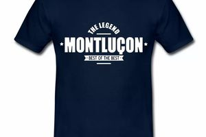 T Shirt Auvergne The Legend Montluçon Best of the best HBM