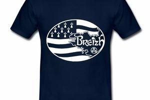 T Shirt Bretagne Breizh BZH 146159709-109422994