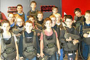 Le télégramme - Pass jeunes Jeunesse. Inauguration du Laser games