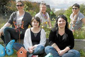 Ouest France/ Les bénévoles ont fait germer la 10e fête des plantes