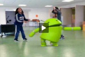 Danse avec le robot...