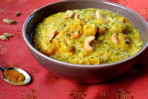 Curry indien de courge