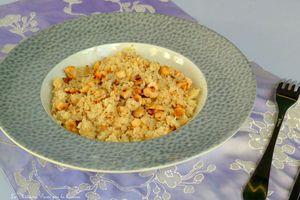 Semoule de chou-fleur poêlé aux noisettes et zaatar - Bataille Food 32