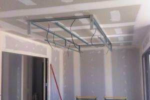 Plafond sarl durou fils lacrabe for Plafond suspendu decoratif