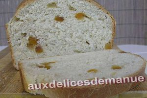 pain au lait aux fruits confits