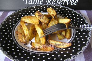 potatoes épicées au four -LIGHT-
