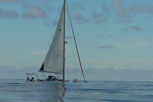 """Départ de Mindelo au Cap Vert pour la """"grande"""" traversée"""