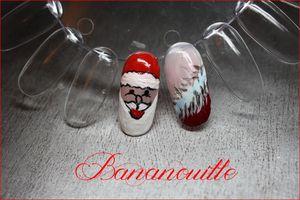 "Nail Art "" Nostalgie de Noël"""