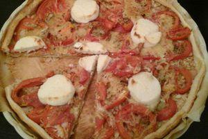 Tarte à la tomate rapide et simple!