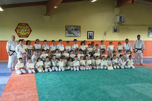 Belle journée pour le judo en famille